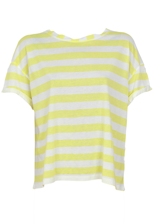 Tricou ZARA Margot Yellow
