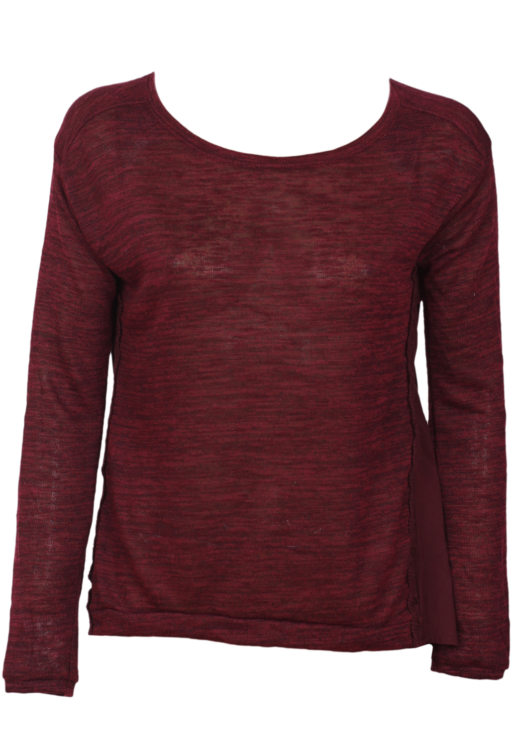 Bluza Bershka Ophta Dark Red