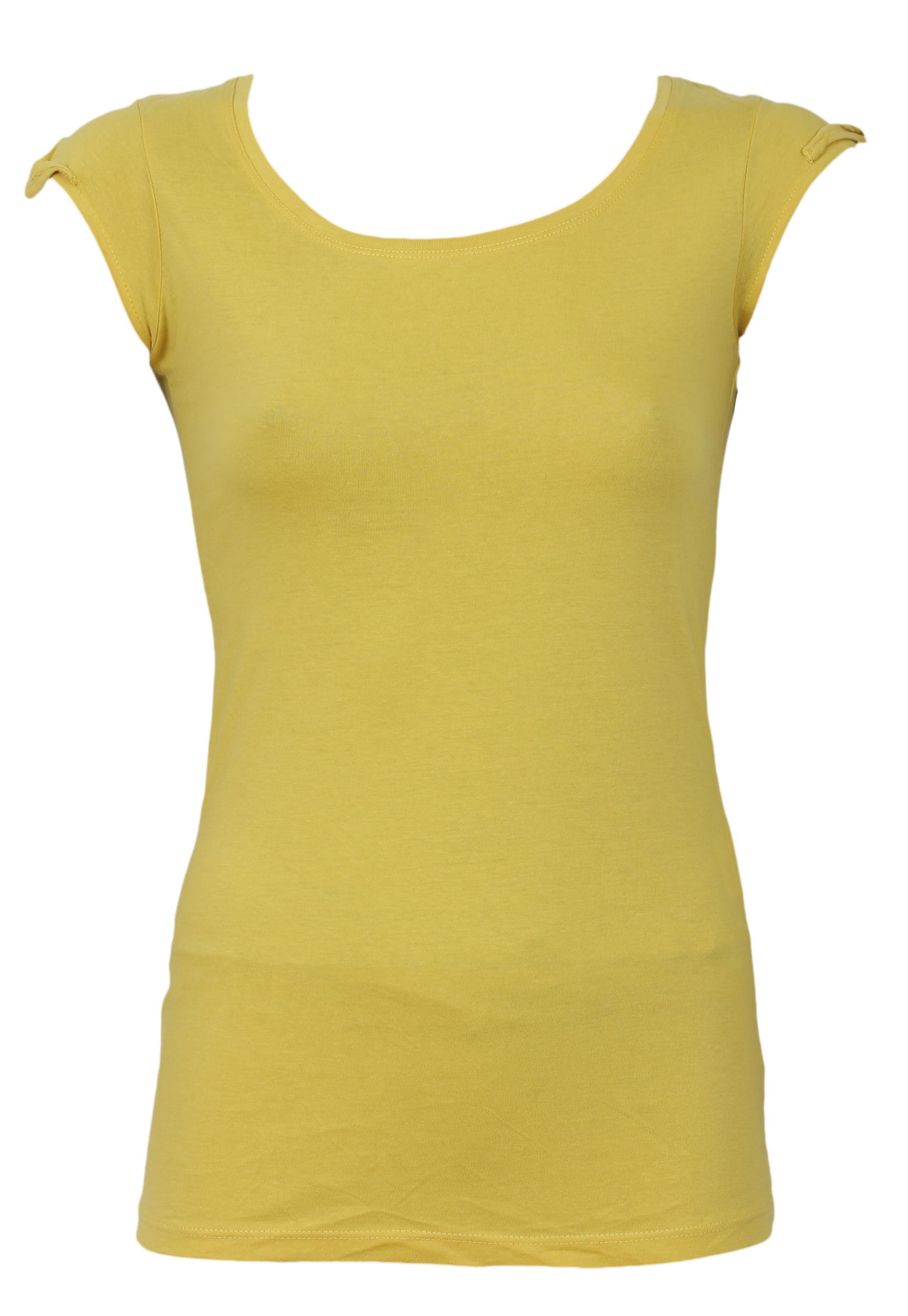 Tricou OVS Baddo Yellow