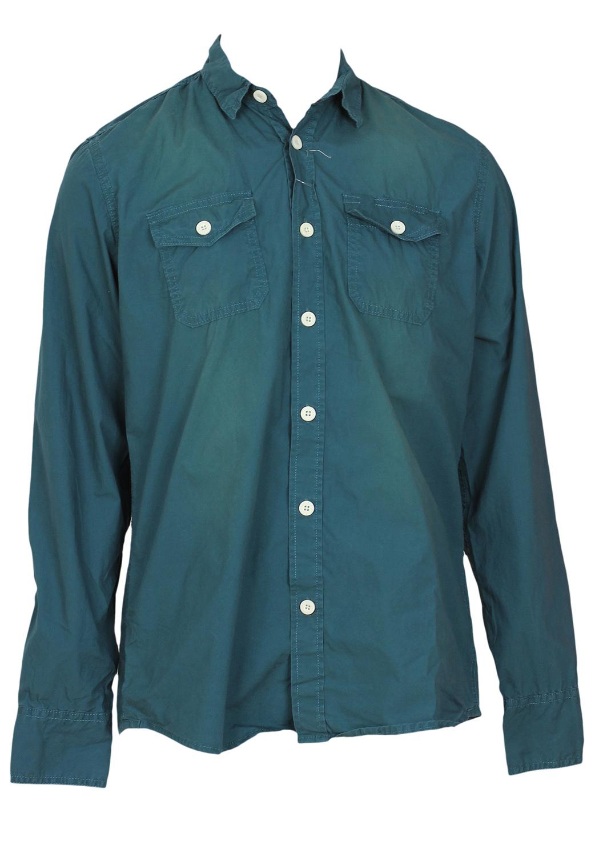 Camasa Alcott Simple Turquoise