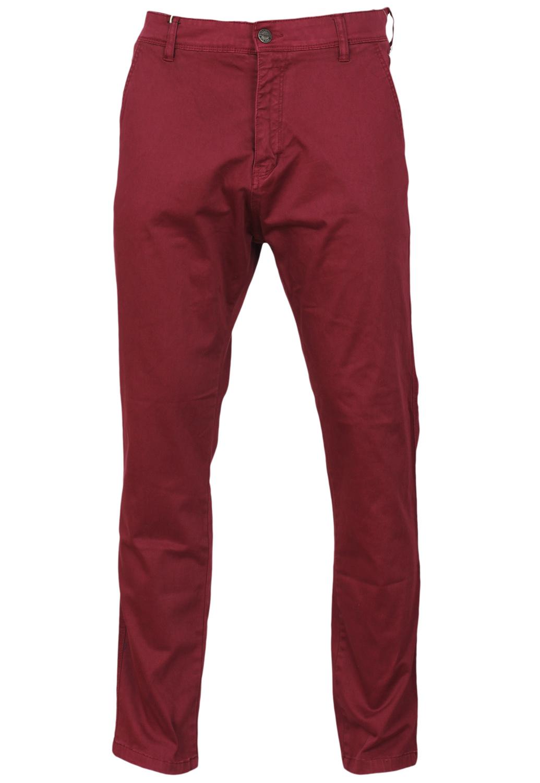 Pantaloni Alcott Collection Dark Red