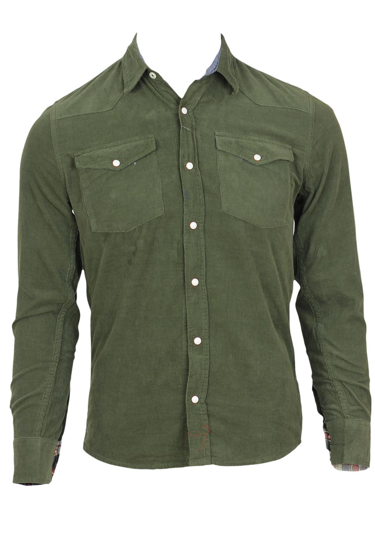 Camasa Alcott Ladune Dark Green