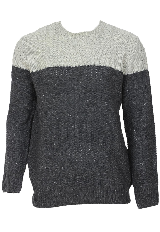 Pulover Alcott Collection Dark Grey
