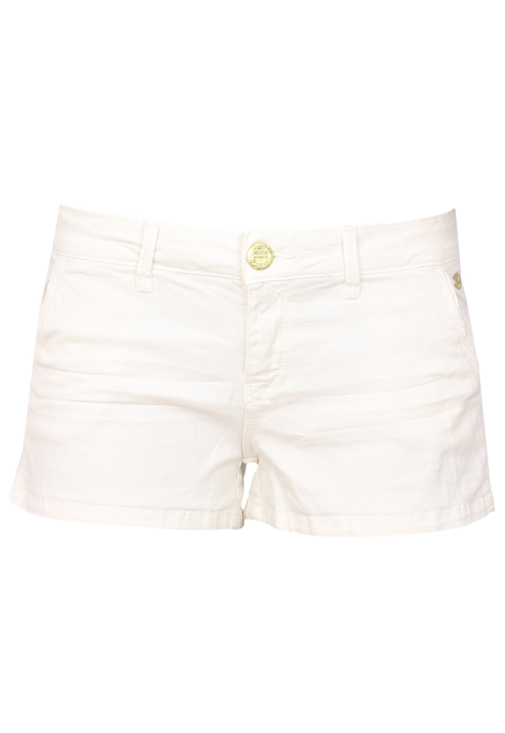 Pantaloni scurti Stradivarius Basic White