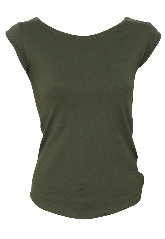Tricou Bershka Collection Dark Green