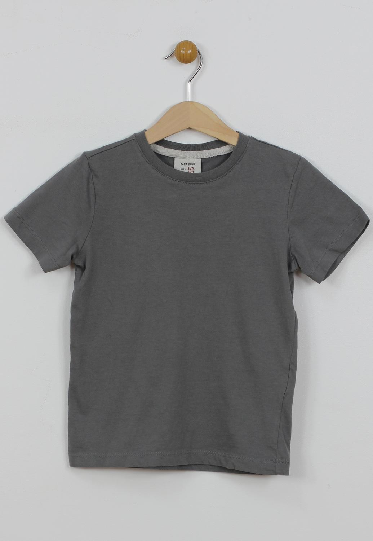 Tricou ZARA Pondo Grey