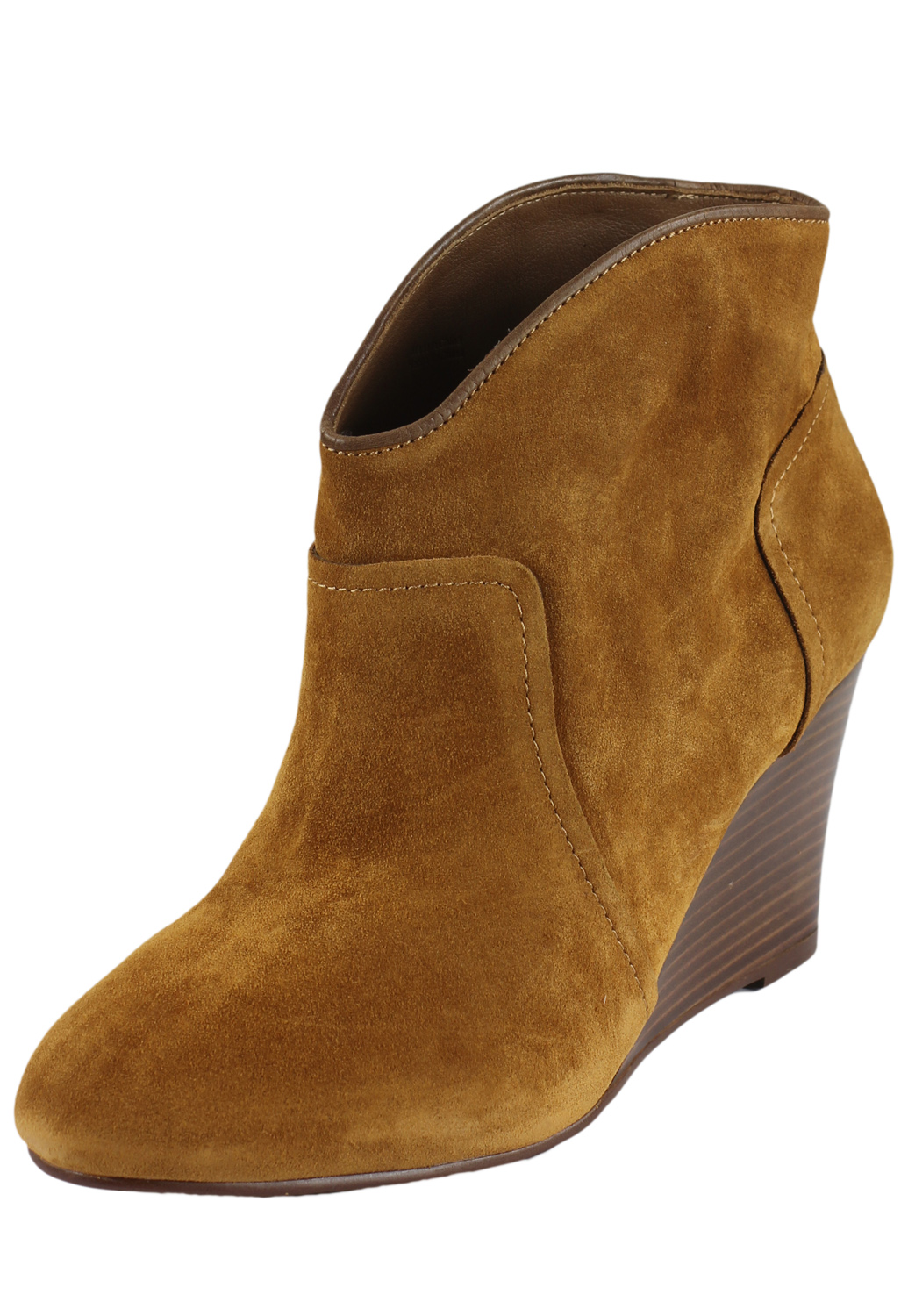 Botine piele Massimo Dutti Collection Brown