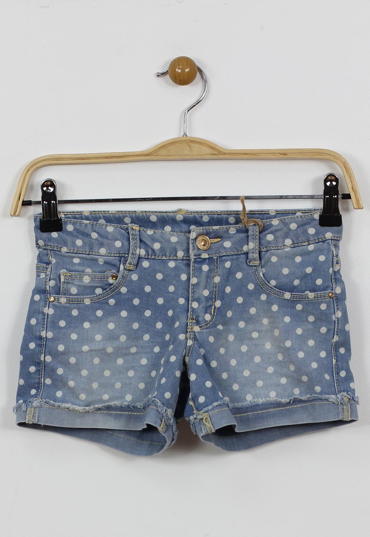 Pantaloni scurti ZARA Basic Blue