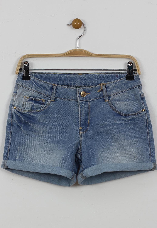 Pantaloni scurti ZARA Duna Blue