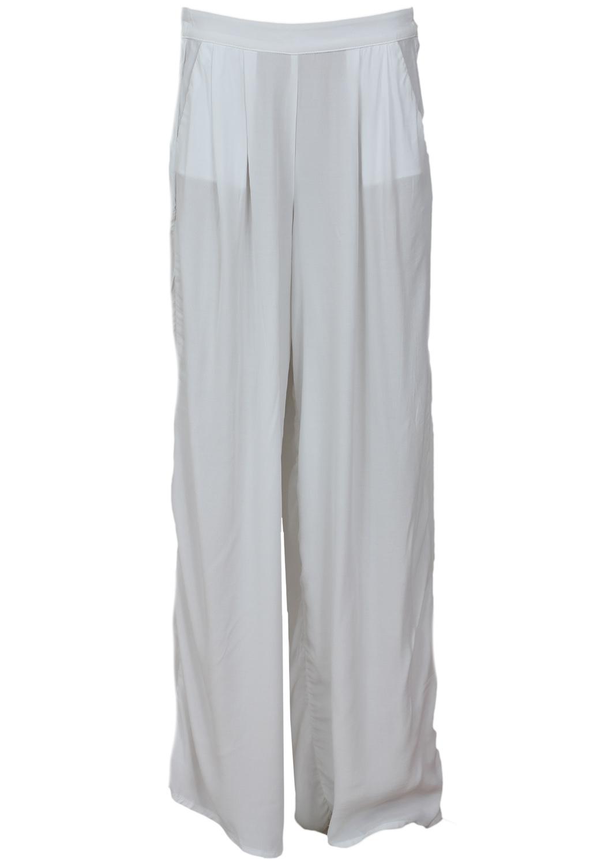 Pantaloni Bershka Ophta White