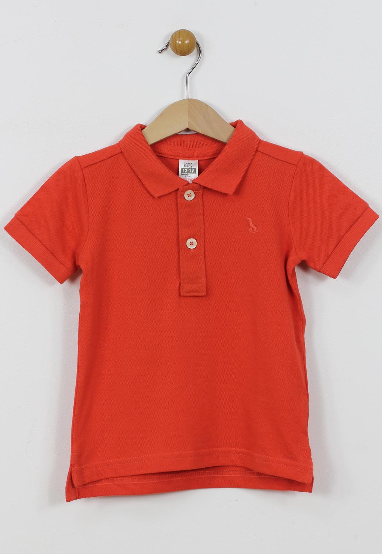 Tricou Polo ZARA Collection Red