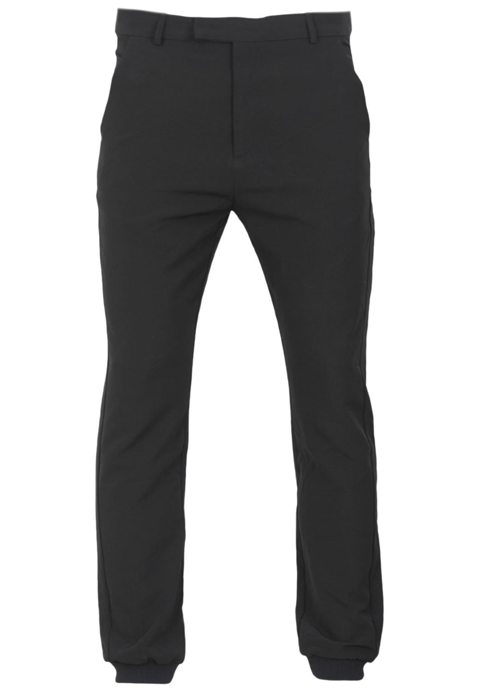 Pantaloni de stofa Bershka Collection Black