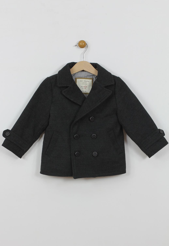 Palton ZARA Ophta Dark Grey