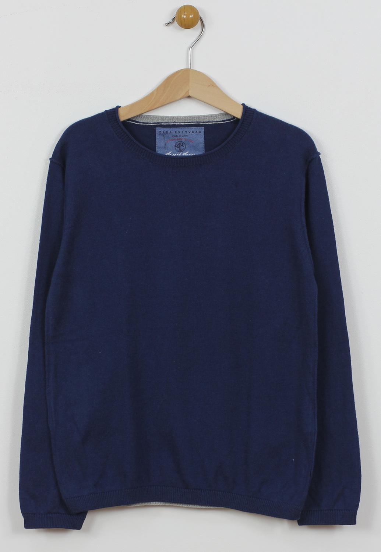 Bluza ZARA Collection Dark Blue
