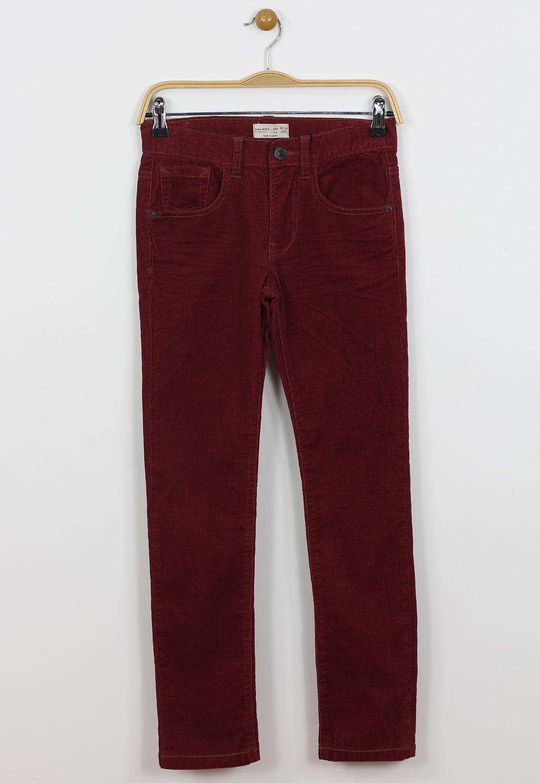 Pantaloni ZARA Colle Dark Red
