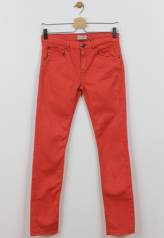 Blugi ZARA Basic Red