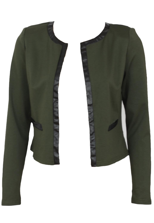Jacheta AX Paris Collection Dark Green