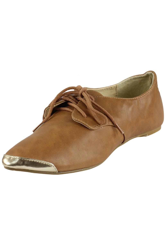 Pantofi piele Lefties Collection Brown