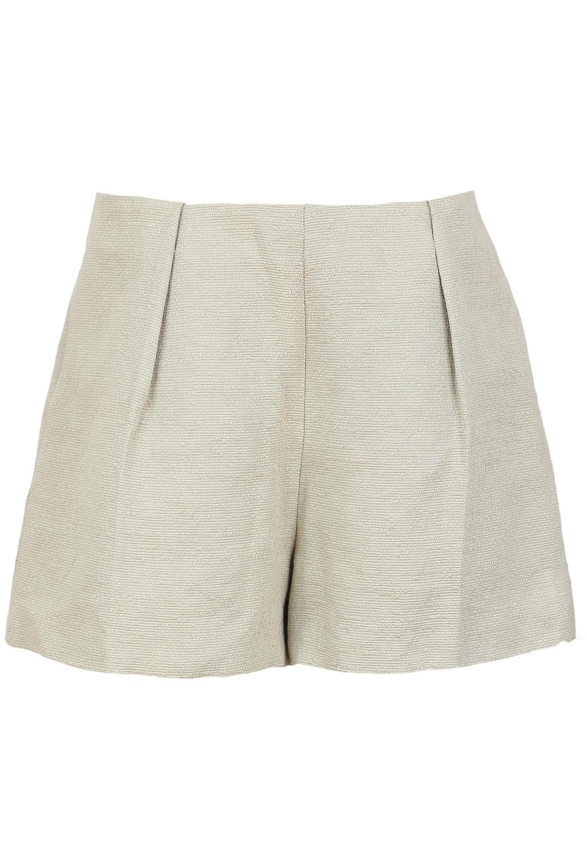 Pantaloni scurti ZARA Super Beige