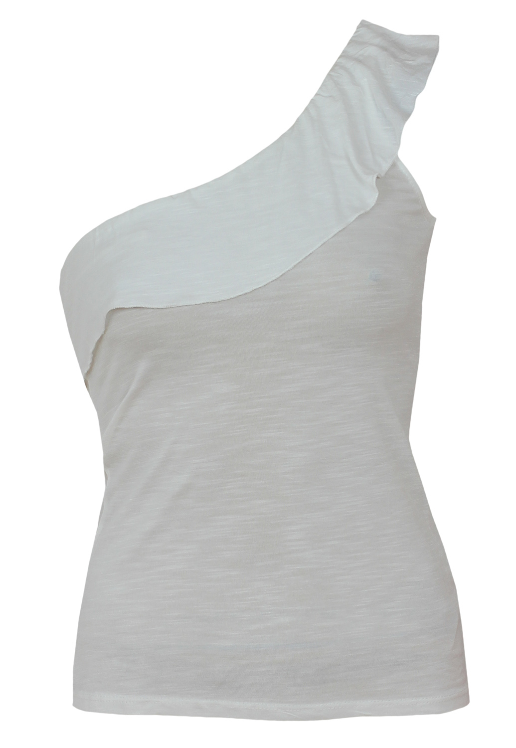 Top Bershka Ophta White