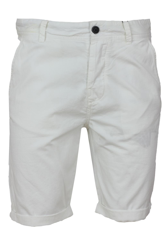 Pantaloni scurti Bershka Ophta White