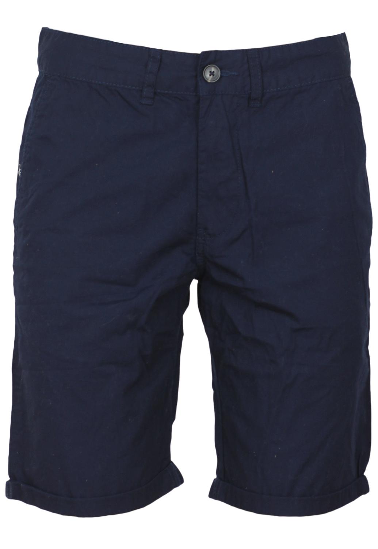 Pantaloni scurti Bershka Ophta Dark Blue
