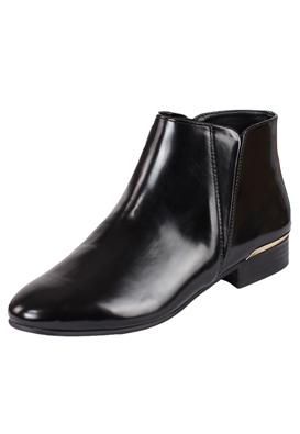 Botine Zara Basic Black