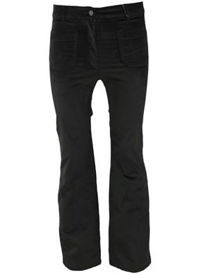 Pantaloni ZARA Flies Black