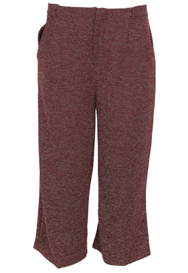 Pantaloni Stradivarius Hailey Dark Red