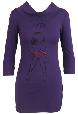 Bluza Made for Loving Lizzy Purple