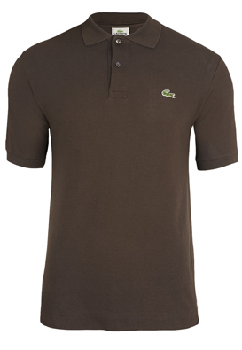 Tricou polo Lacoste Shel Dark Brown