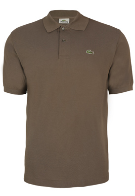 Tricou polo Lacoste Hugo Brown