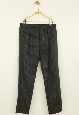 Pantaloni de stofa ZARA Elle Dark Grey
