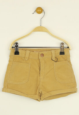 Pantaloni scurti ZARA Vanessa Dark Yellow