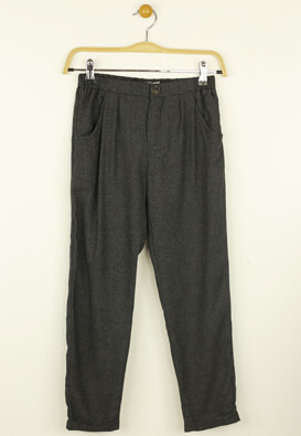 Pantaloni de stofa ZARA Elisa Dark Grey