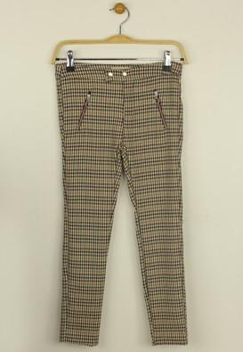 Pantaloni ZARA Della Beige