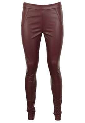 Pantaloni Vero Moda Hera Dark Purple