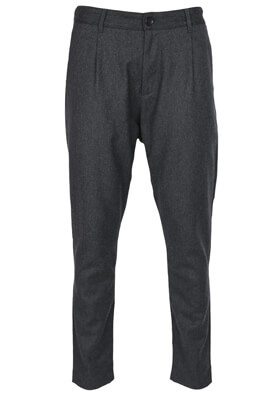 Pantaloni de stofa Elvine Noah Dark Grey