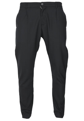 Pantaloni de stofa Elvine Liam Black