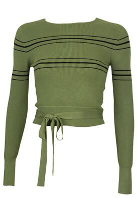 Bluza ZARA Joyce Dark Green