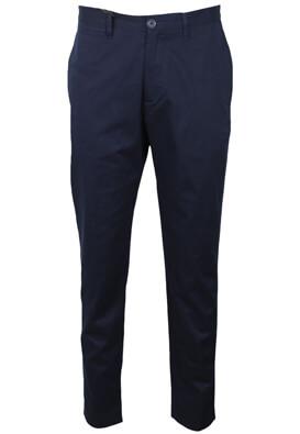 Pantaloni de stofa ZARA Oliver Dark Blue