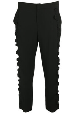 Pantaloni de stofa ZARA Whitney Black