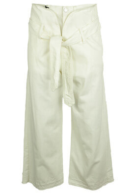Pantaloni ZARA Eden White