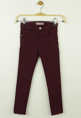 Pantaloni ZARA Sally Dark Purple