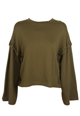 Bluza ZARA Wendy Dark Green