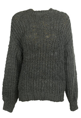 Pulover Pull and Bear Xenia Dark Grey