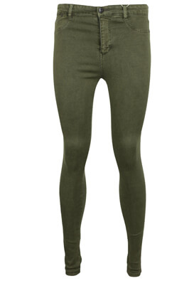 Blugi Pull and Bear Fran Dark Green
