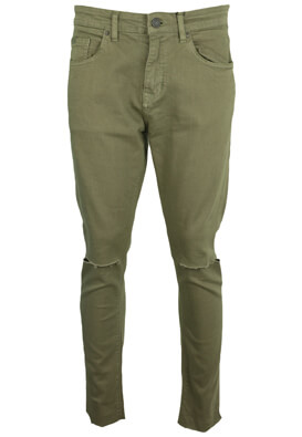 Pantaloni Pull and Bear Hugo Dark Green