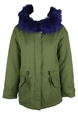 Geaca Pull and Bear Della Dark Green