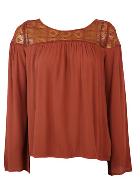 Bluza Reserved Lucy Brown